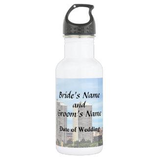Garrafa De Aço Inoxidável Fontes do casamento da skyline do Pa de