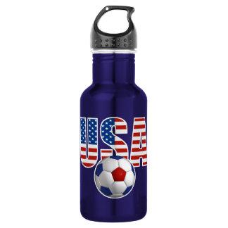 Garrafa De Aço Inoxidável Futebol dos EUA