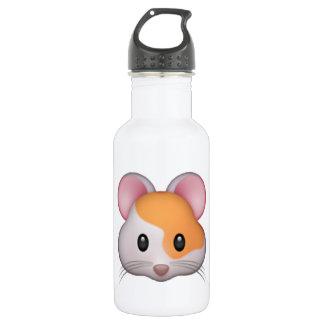Garrafa De Aço Inoxidável Hamster - Emoji