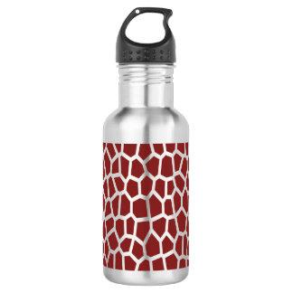 Garrafa De Aço Inoxidável Impressão do girafa de Brown da cor da picareta de