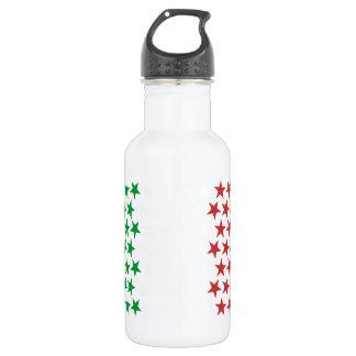 Garrafa De Aço Inoxidável Inspirado pela bandeira italiana. Edição das