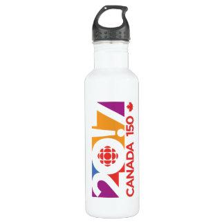 Garrafa De Aço Inoxidável Logotipo 2017 de CBC/Radio-Canada