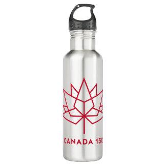 Garrafa De Aço Inoxidável Logotipo de Canadá 150