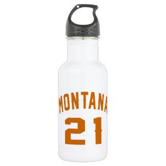 Garrafa De Aço Inoxidável Montana 21 designs do aniversário