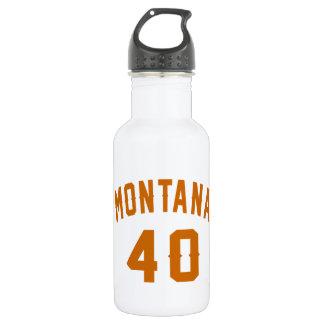 Garrafa De Aço Inoxidável Montana 40 designs do aniversário