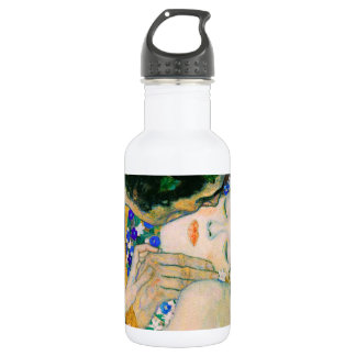 Garrafa De Aço Inoxidável O beijo por Gustavo Klimt