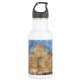 Garrafa De Aço Inoxidável Taj Mahal em Agra India