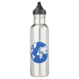 Garrafa De Aço Inoxidável Terra/garrafa de água feita sob encomenda (710