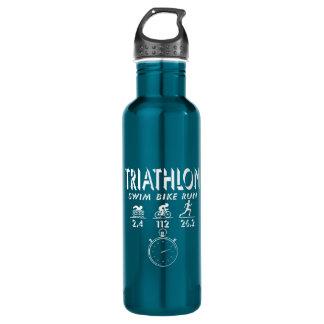 Garrafa De Aço Inoxidável Triathlon
