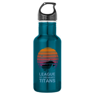 Garrafa de água alternativa do logotipo
