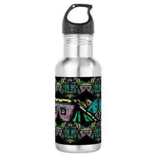 Garrafa de água asteca da arte
