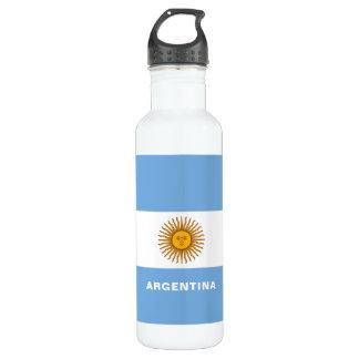Garrafa de água da bandeira de Argentina