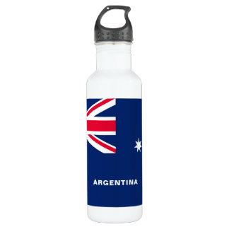 Garrafa de água da bandeira de Austrália