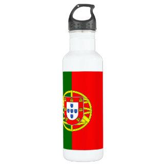 Garrafa de água da bandeira de Portugal