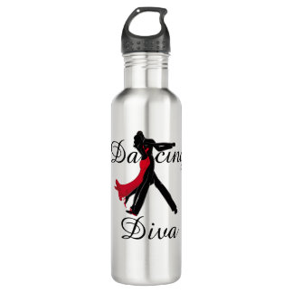 Garrafa de água da diva da dança