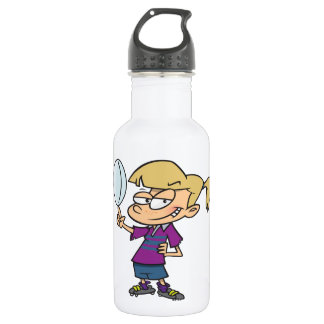 Garrafa de água da menina do rugby