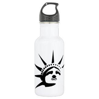 Garrafa de água da senhora Liberdade