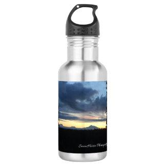 Garrafa de água do ~ do por do sol de Denali