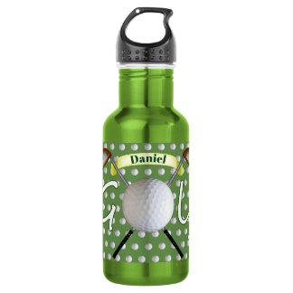 Garrafa de água do golfe
