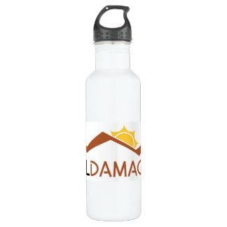 Garrafa de água do logotipo