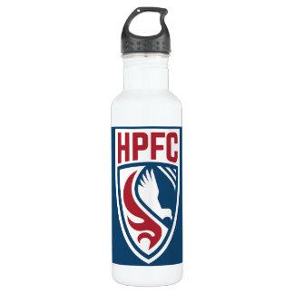 Garrafa de água do logotipo de HPFC - azul
