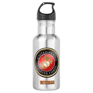 Garrafa de água do veterano do USMC