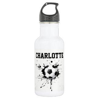 Garrafa de água pessoal do futebol do futebol dos