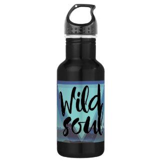 Garrafa de água selvagem da montanha da alma