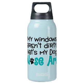 Garrafa De Água Térmica Arte do nariz de cão