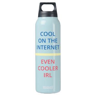 Garrafa De Água Térmica Esfrie no Internet - mesmo uma IRL mais fresca (a