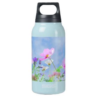 Garrafa De Água Térmica Flores selvagens do primavera bonito