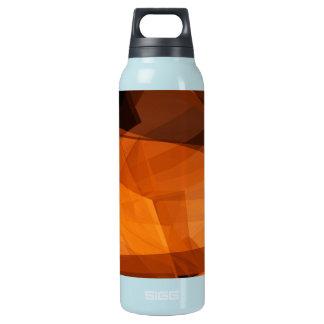 Garrafa De Água Térmica Fundo abstrato da laranja para o design como o