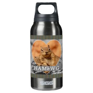 Garrafa De Água Térmica HAMbyWG - 0.3L - pérola fumado - esquilo