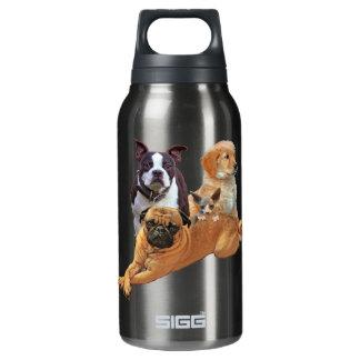 Garrafa De Água Térmica Legião do cão com gato