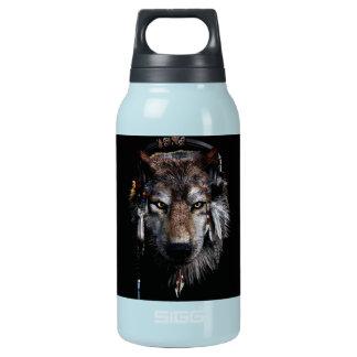 Garrafa De Água Térmica Lobo indiano - lobo cinzento
