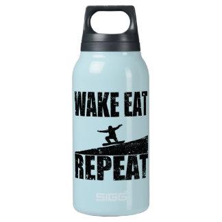 Garrafa De Água Térmica O acordar come a repetição #2 do Snowboard (o
