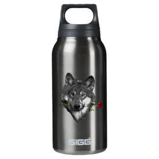 Garrafa De Água Térmica O lobo aumentou
