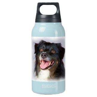 Garrafa De Água Térmica Pintura do cão - arte do cão - pet a arte