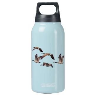 Garrafa De Água Térmica Rebanho de gansos selvagens