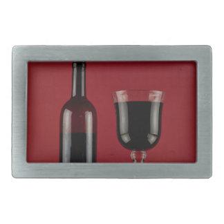 Garrafa de vidro de vermelho de vinho