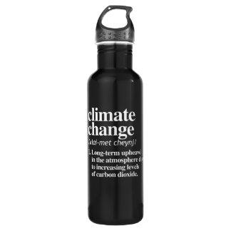 Garrafa Definição das alterações climáticas - Upheavel a