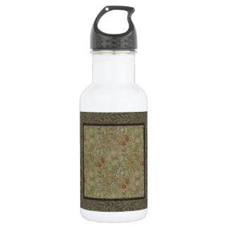 Garrafa Design floral do impressão da arte do salgueiro do