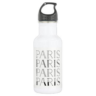 Garrafa Francês elegante de Paris Paris Paris | inspirado