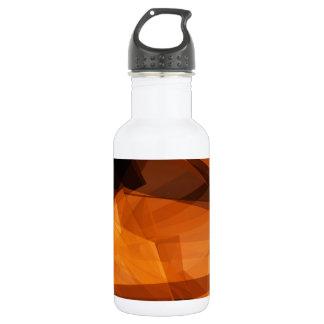 Garrafa Fundo abstrato da laranja para o design como o