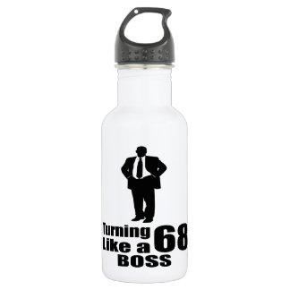 Garrafa Girando 68 como um chefe