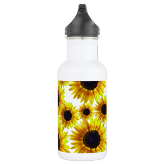 Garrafa Girassol amarelo brilhante