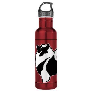 Garrafa Gráficos do Keeshond - arte original bonito do cão