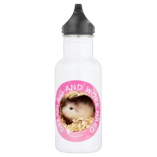 Garrafa Hammyville - o hamster bonito personalizou seus