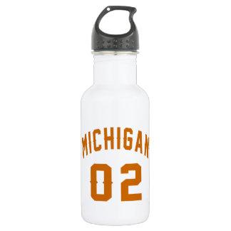 Garrafa Michigan 02 designs do aniversário