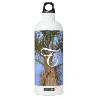 Garrafa Monogrammed da palmeira
